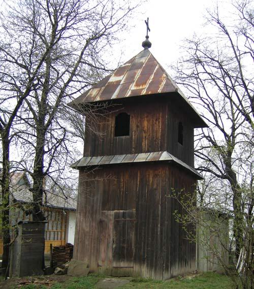 Clopotnita bisericii vechi a familiei Eminovici
