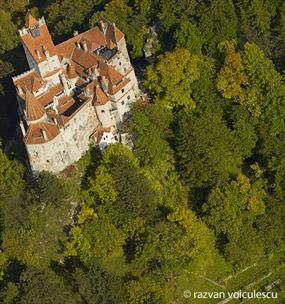castelul bran - foto aeriana - razvan voiculescu