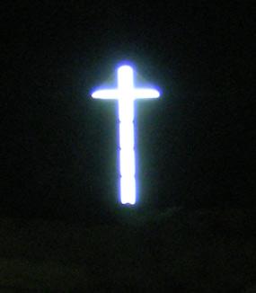 Cruce luminoasa in mina unirea