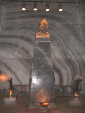 Decebal -statuie de sare