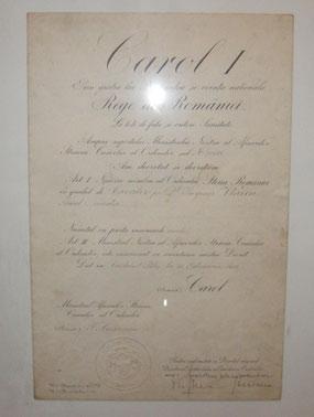 decret regal - ordinul steaua romaniei