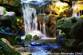 parcul romanescu cascada