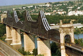 podul saligny de la cernavoda