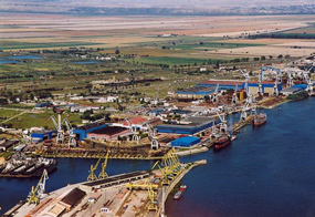 portul galati