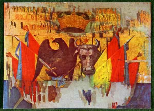 unirea principatelor romane - steag