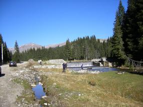 amenajare pe valea ialomitei in bucegi