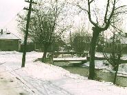 Valea Maierusului iarna in comuna