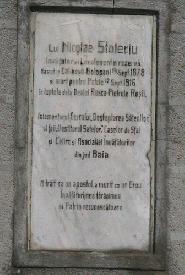 Placa monument Stoleru