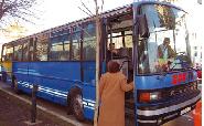 Autocar donat de comuna Greasque, Franta