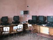 Laboratorul de informatica al Scolii din Chiochis