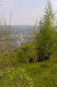 Satul Alunu vazut de sus