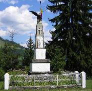 Monumentul eroilor din Borca