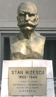 Bustul lui Stan Rizescu