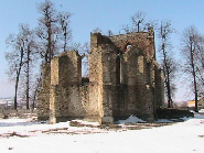 Baia-SV , Ruina Episcopiei catolice a lui Alexandru cel Bun