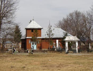 Candesti-BT, Biserica veche din Talpa