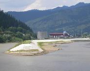 Amenajare hidro pe Bistrita