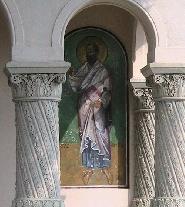 Fresca pe frontiul bisericii ortodoxe