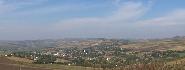 Satul Sanger vazul dinspre manastire