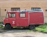 Masina pompierilor din Checea
