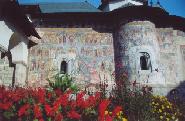 Manastirea Risca - vedere generala