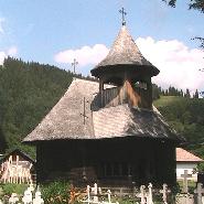 Biserica de Lemn din satul Galu