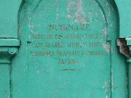 Placa memoriala pentru cinstirea eroilor din razboaiele mondiale