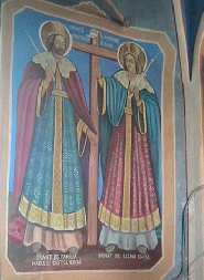 Fresca din biserica ortodoxa