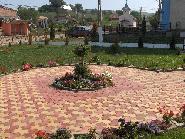 Parcul din centrul comunei