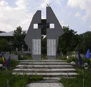 Monumentul eroilor Manzalesti Buzau