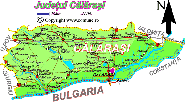 Harta judetului Calarasi