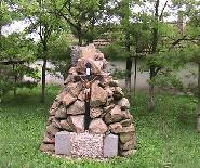 Checea-TM, Monument inchinat lui IIsus